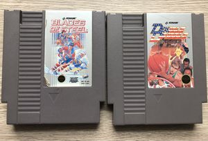 Nintendo NES Blades of Steel & Double Dribble games. Selling both for $15. for Sale in Washington, DC