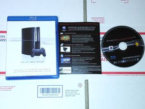 Ps3 welcome to playstation 3 & network for Sale in Chicago, IL