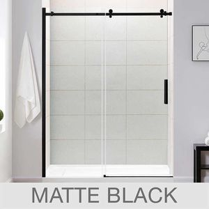 "OVE Kelsey 60"" Tempered Glass Shower Door- Normally $549.99 plus tax for Sale in Los Alamitos, CA"