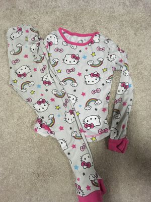 Size 4 girls pajama sets. 2 sets. Both for $5 for Sale in Everett, WA