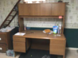 Corporate Business Grade Desk and File Storage for Sale in Oshkosh, WI