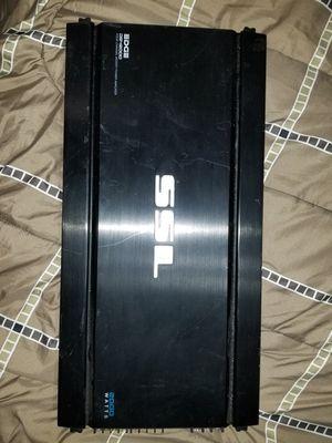 SSL 2000wat 4 channel amplifier for Sale in Seekonk, MA