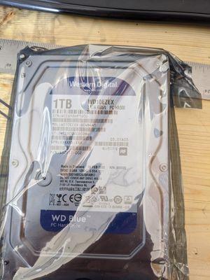 1TB hard drive for Sale in Pittsboro, IN