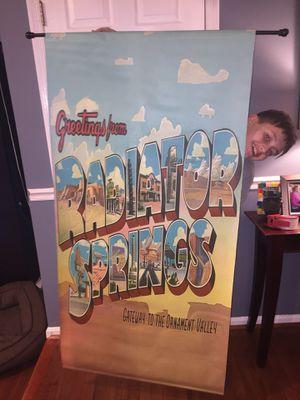 Cars movie banner for Sale in Fairfax, VA