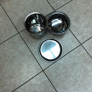 2 Stainless Steel Cooking Pots With One Cover/lid for Sale in Concord, CA