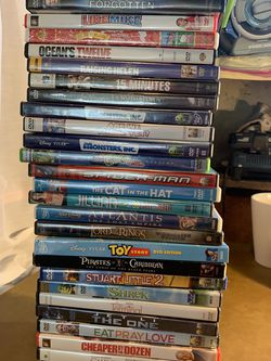 Lot Of 30 DVDs for Sale in Vallejo,  CA