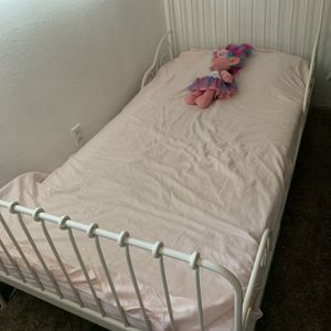 Ikea White Twin Bed for Sale in Campbell, CA