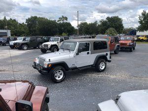2006 Jeep Wrangler LJ Unlimited - 1Owner 70k miles for Sale in Tampa, FL