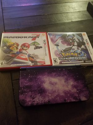 New Nintendo 3DS XL + 2 games for Sale in MIDDLEBRG HTS, OH