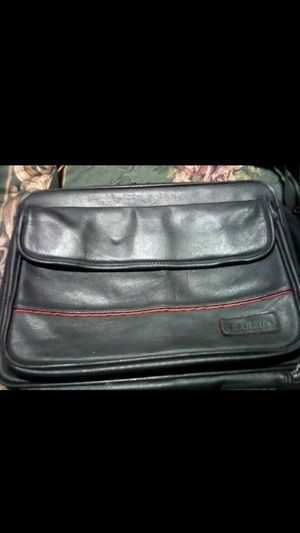 Black leather Targus Laptop case for$8.00 for Sale in Spartanburg, SC
