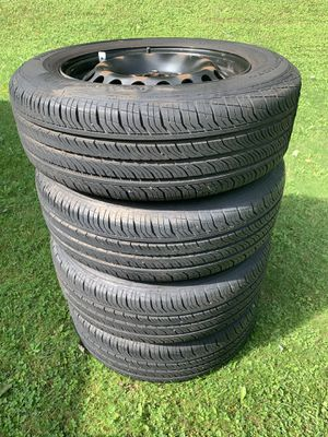 195/65/15 Continental ProContact Tires 5x112 Rims for Sale in Camillus, NY