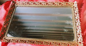 Vintage mirrored tray for Sale in Medford, OR
