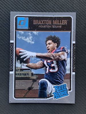 2016 Panini Donruss Rated Rookie Braxton Miller for Sale in Casa Grande, AZ