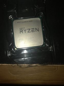 AMD Ryzen 5 2600 Processor with Wraith Stealth Cooler. Base clock 3.4 GHz. for Sale in Clearwater,  FL