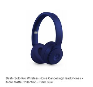 Beats Solo Pro Wireless Noise Cancelling Headphones for Sale in Houston, TX