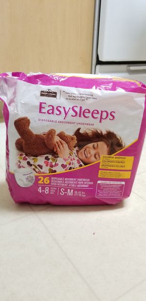 18 left.Toddler Easy sleeps pull up diapers & toddler blanket for Sale in San Marcos, CA