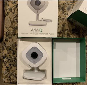 Arlo Q 1080p camera with box for Sale in Houston, TX