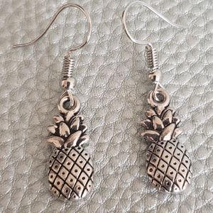 Silver plated pineapple earrings for Sale in Salinas, CA