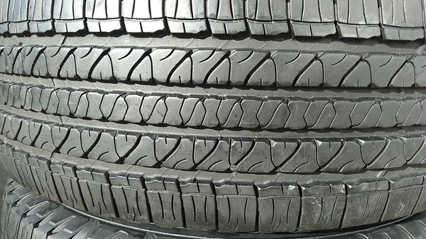 Two matching Goodyear tires for sale 245/70/17