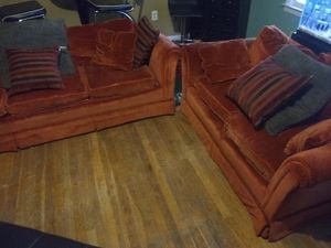 Sectional couch will deliver for a small fee for Sale in Atlanta, GA