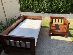 Twin Bed and Chair for Sale in Lynnwood, WA