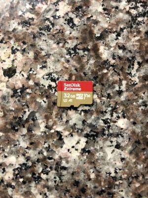 Micro sd card 32gb sandisk extreme for Sale in Chula Vista, CA