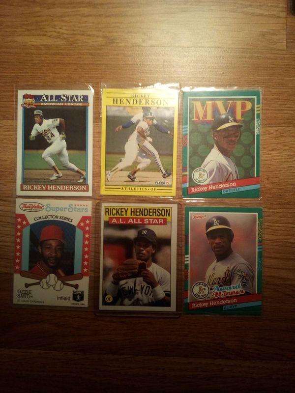 Collector baseball cards