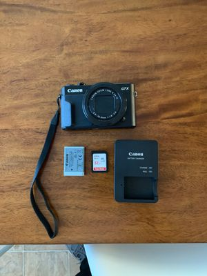 Canon G7X Markii for Sale in Riverside, CA