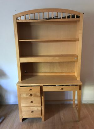 Solid maple kid's desk, Stanley, good condition, $75 for Sale in San Jose, CA