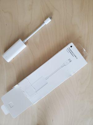 Apple Thunderbolt 2 to Thunderbolt 3 Adapter (USB C) for Sale in Denver, CO