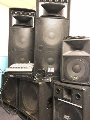 DJ/Event Speaker system for Sale in Houston, TX