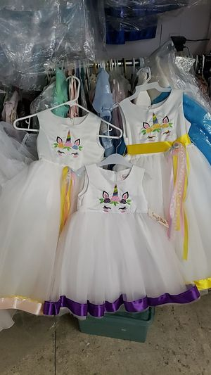Unicorn dresses. New for Sale in Downey, CA