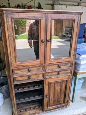 Storehouse Cabinet / Wine Cabinet for Sale in Grapevine, TX