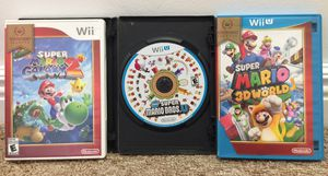 Super Mario Bros. Wii U Game Bundle For Sale *$45 For Everything* for Sale in Austin, TX