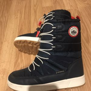 H&M Snow Boots Waterproof Insulated Boys Size 1.5 for Sale in Schaumburg, IL