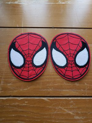 Spiderman 2 lot patch new Iron On patch or sewed on 4in x 3in for Sale in Los Angeles, CA