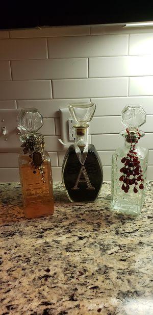 3 antique empty wine bottle's for Sale in Houston, TX