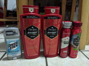 Mens body wash bundle ( Nivea, old spice) for Sale in Arlington, TX