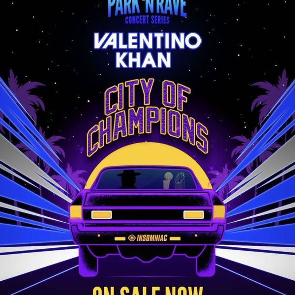 Valentino Khan Parknrave City Of Champions Friday Pink