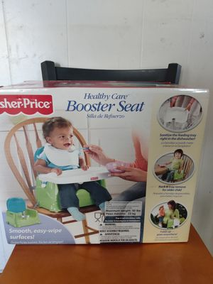 Fisher Price Booster seat Booster chair It has a box still only used a few times for Sale in Fort Myers, FL