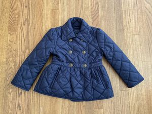 Polo Ralph Lauren Girl Toddlers Quilted Jacket 4t for Sale in Arcadia, CA