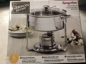 6 piece chafing dish set for Sale in Carlsbad, CA