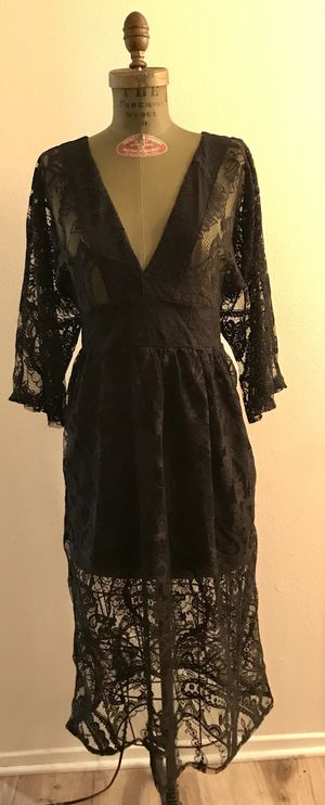AUDREY 3+1 Lace Black Dress for Sale in Los Angeles, CA