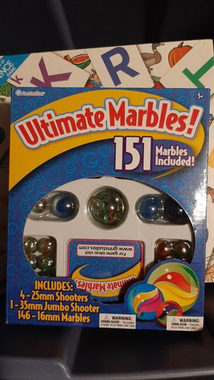 Ultimate marbles for Sale in Whitehall, OH