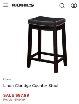 Lining Counter Stool for Sale in Florissant, MO