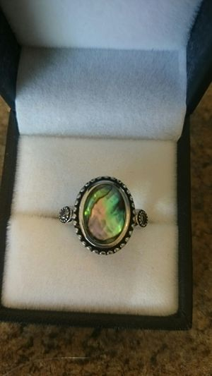 Sterling silver Beautiful Gemstone ring sz 6 for Sale in Kent, WA