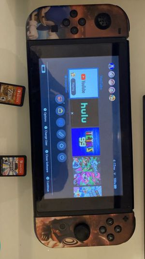 Nintendo switch with Zelda and Mario party for Sale in Miami Gardens, FL