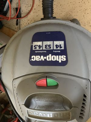 Shop vacuum for Sale in Buford, GA