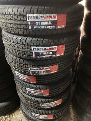 St235/80/16 TRAILER TIRES 10ply for Sale in Arlington, TX