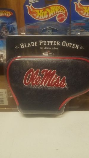 Ole Miss Golf Blade Putter Cover for Sale in Whittier, CA